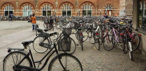 Dviračiai Danijoje